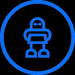 Automatización de tareas repetitivas empleando robots.